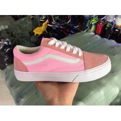 Giày Sneaker Vans Hồng Classic Nữ | Giày Vans Old Kool Hồng Nữ