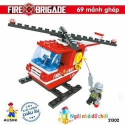 Đồ chơi lắp ráp xếp hình Ausini Sở cứu hỏa 21302