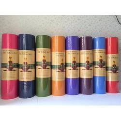 Thảm tập yoga TPE 8mm 1 lớp - Tặng túi đựng thảm thời trang
