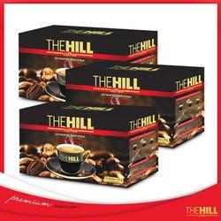 Combo ba hộp Cà phê hoà tan The Hill-hộp đen