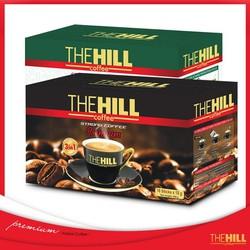 Combo hai hộp Cà phê hoà tan The Hill-Xanh đen