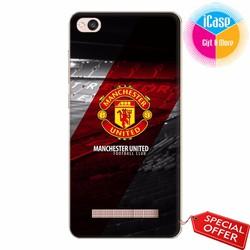 Ốp lưng Xiaomi Redm 4aNhựa dẻo in hình Câu lạc bộ Manchester United