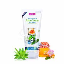 Gel rửa mặt chiết xuất Nha Đam Sensitive Skin Aloe Vera Gel Wash