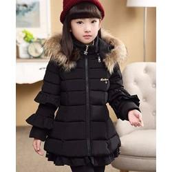 áo khoác cho bé gái từ 4 tuổi đến 10 tuổi