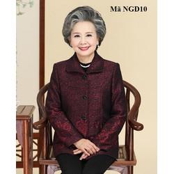 Áo khoác dạ cho người già, người lớn tuổi NGD10