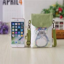 Túi điện thoại đeo chéo hình in hoạt hình xinh xắn 95k