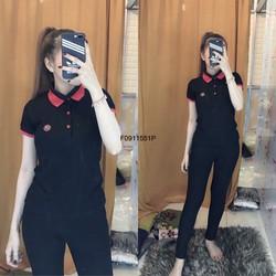 Set bộ thun tag cổ bẻ viền quần dài hàng tk MS: S091171 Giá sỉ: 155k
