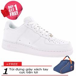Khuyến Mãi - Giày Sneaker Nam Air Force + Túi Đựng Giày
