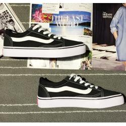 Giày Vans Sneaker Nam Nữ | Giày Vans Classic Đen Thời Trang Old Kool