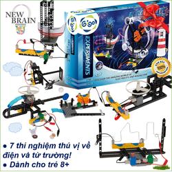 Đồ chơi điện từ trường - Giáo dục trẻ về chủ đề khoa học【Gigo Toys】