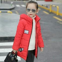 Áo khoác bé gái lông vũ siêu đẹp
