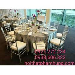 Bộ bàn ghế nhà hàng tiệc cưới giá rẻ