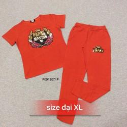 Set bộ thun kim sa quần dài size to hang tk MS: S091107 Giá sỉ: 170k