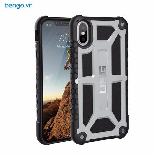 Ốp lưng iPhone X UAG Monarch Series - Platinum - 10492655 , 7690756 , 15_7690756 , 1400000 , Op-lung-iPhone-X-UAG-Monarch-Series-Platinum-15_7690756 , sendo.vn , Ốp lưng iPhone X UAG Monarch Series - Platinum