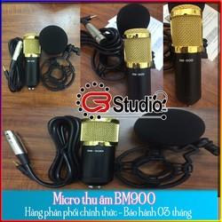 Micro thu âm BM 900 chuyên nghiệp chính hãng