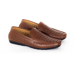 Giày da nam thoáng khí mùa hè