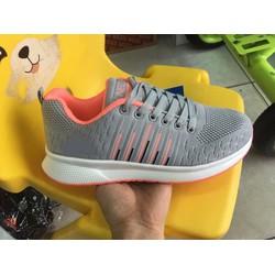 giày thể thao nữ mẫu mới, form chuẩn, nhẹ, êm