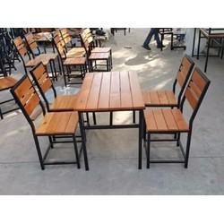 bàn  ghế nhà hàng quán ăn giá siêu rẻ
