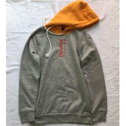Áo hoodie xám
