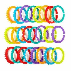 Bộ 24 vòng nhựa đồ chơi Bright Starts cho bé