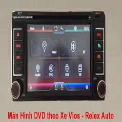 MÀN HÌNH DVD CHO XE TOYOTA VIOS ĐỜI 2006 – 2017
