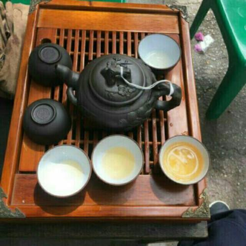 Bộ ấm trà và Khay trà gỗ Cao cấp - 5103985 , 7707036 , 15_7707036 , 355000 , Bo-am-tra-va-Khay-tra-go-Cao-cap-15_7707036 , sendo.vn , Bộ ấm trà và Khay trà gỗ Cao cấp