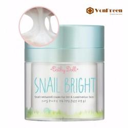 Kem Snail Bright Cathy Doll, kem ốc sên dưỡng trắng