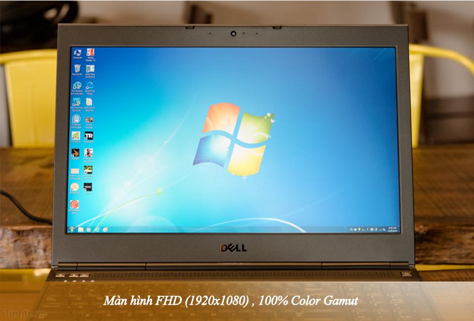 Dell Precision M4800 Core-i7 4900MQ Ram 8GB \ Ổ cứng SSHD 500GB 13