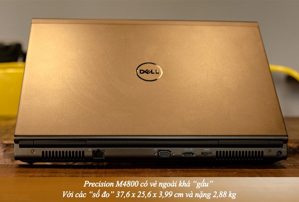 Dell Precision M4800 Core-i7 4900MQ Ram 8GB \ Ổ cứng SSHD 500GB 5