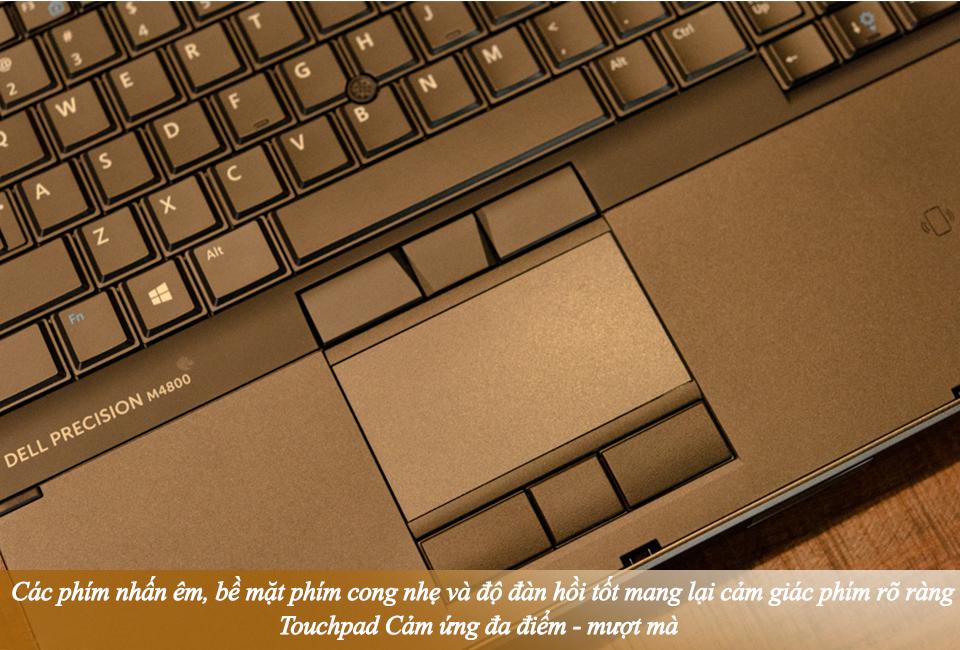 Dell Precision M4800 Core-i7 4900MQ Ram 8GB \ Ổ cứng SSHD 500GB 15