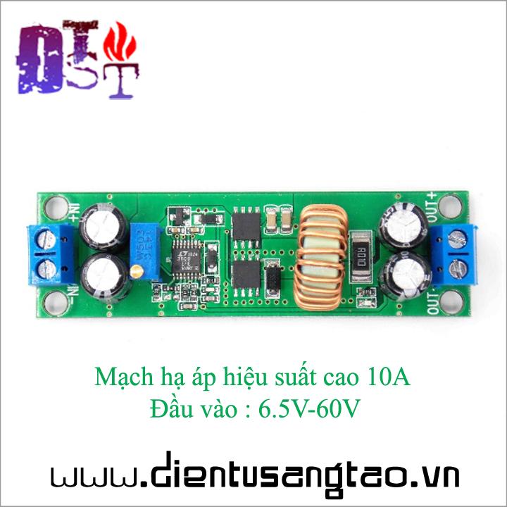 Mạch hạ áp hiệu suất cao 10A Đầu vào  6.5V-60V 2