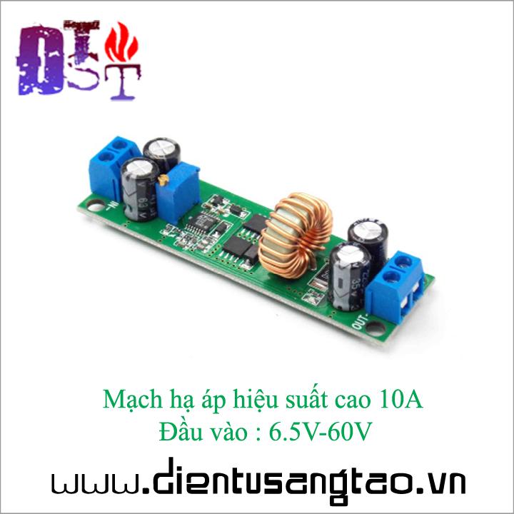 Mạch hạ áp hiệu suất cao 10A Đầu vào  6.5V-60V 1