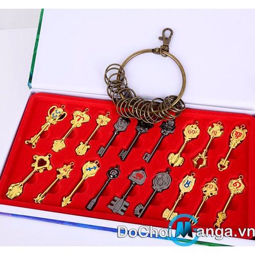 Bộ Chìa Khóa Fairy Tail MS 1 - 10494025 , 7703663 , 15_7703663 , 350000 , Bo-Chia-Khoa-Fairy-Tail-MS-1-15_7703663 , sendo.vn , Bộ Chìa Khóa Fairy Tail MS 1