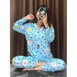 bộ pijama họa tiết Kute