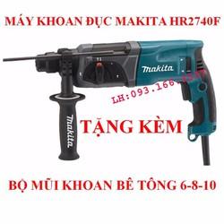 Bộ máy khoan bê tông MAKITA HR2470F tặng kèm mũi