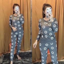 Đồ bộ mặc nhà họa tiết siêu Cute