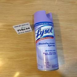 Lysol xịt phòng diệt khuẩn khử trùng