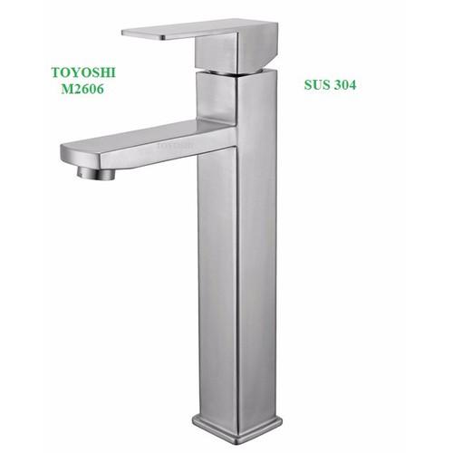 Vòi lavabo nóng lạnh TOYOSHI inox 304 - 10494925 , 7711680 , 15_7711680 , 1180000 , Voi-lavabo-nong-lanh-TOYOSHI-inox-304-15_7711680 , sendo.vn , Vòi lavabo nóng lạnh TOYOSHI inox 304