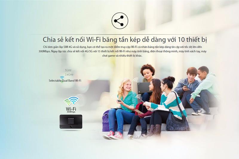 BỘ PHÁT WIFI 4G LTE TP.LINK M7350 - HÃNG PHÂN PHỐI CHÍNH THỨC 2