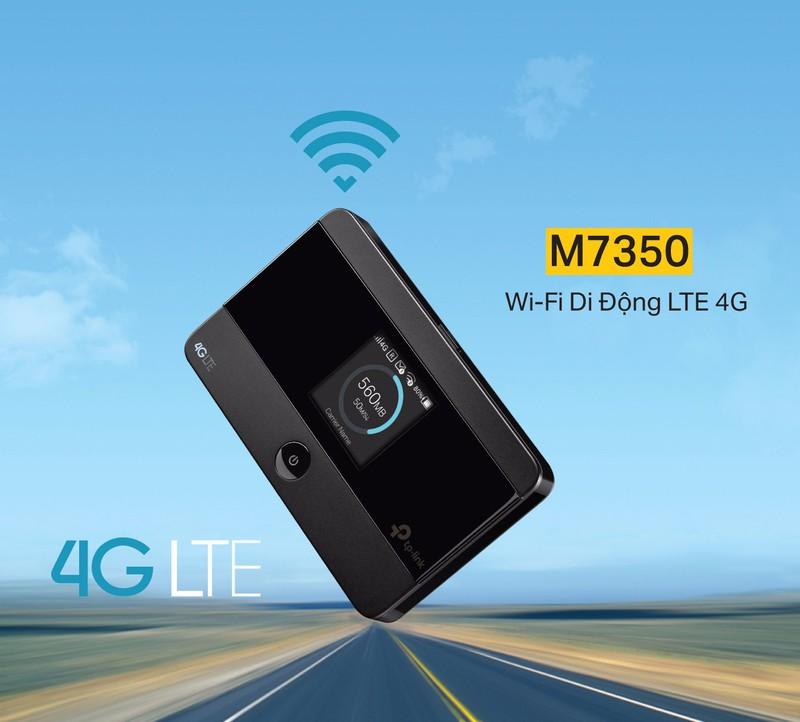 BỘ PHÁT WIFI 4G LTE TP.LINK M7350 - HÃNG PHÂN PHỐI CHÍNH THỨC 4