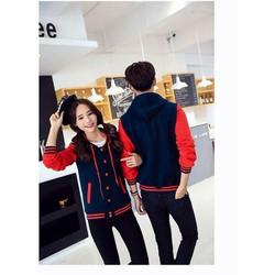 áo khoác đôi phối màu-an94