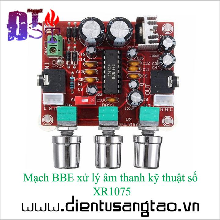 Mạch BBE xử lý âm thanh kỹ thuật số XR1075 5