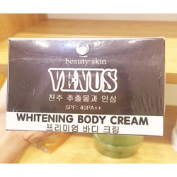Kem dưỡng trắng toàn thân Venus Whitening Body Cream