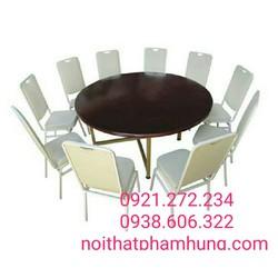 Sản xuất trực tiếp các loại bàn ghế nhà hàng