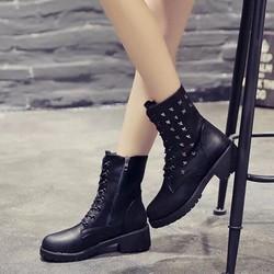 Giày bốt nữ cổ cao sành điệu