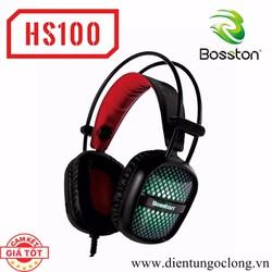 Tai Nghe Chụp Tai Chuyên Game Bosston HS100 Led Đa Màu