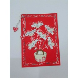 Thiệp handmade, sinh nhật, valentine, chúc mừng...
