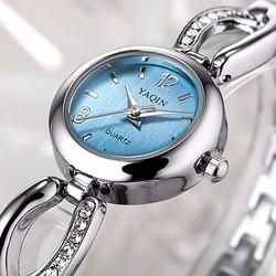Đồng hồ nữ đính hạt , đồng hồ lắc tay YaQin ND100