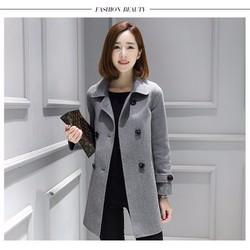 Áo khoác nữ thời trang phong cách Hàn Quốc AK6X