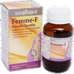 Viên nén Femme-F Hỗ trợ sức khỏe sinh sản của phụ nữ